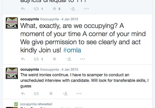 Occupy MLA